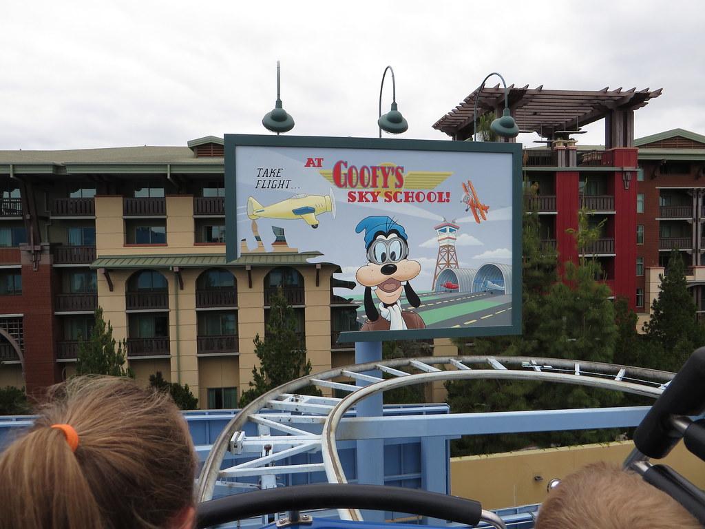 Goofys Sky School, Paradise Pier, Disney California Adventure, Anaheim, California