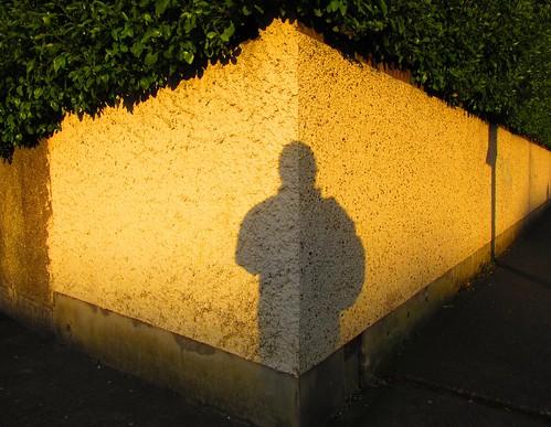 ireland shadow dublin white art silhouette yellow wall sunrise arty artistic fat perspective diamond co folded swords selfie sihouettes creased neatly artofimages artataglance fatselfie