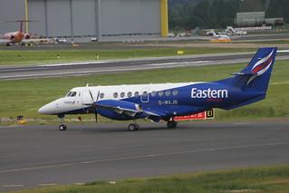 G-MAJB. BAe Jetstream 41, Eastern (T34622 to Newcastle).