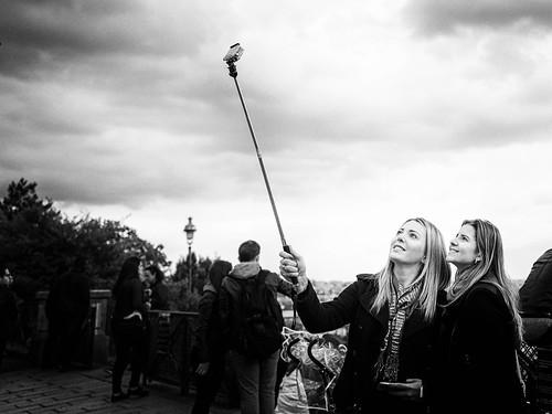 Selfie at Sacré-Cœur