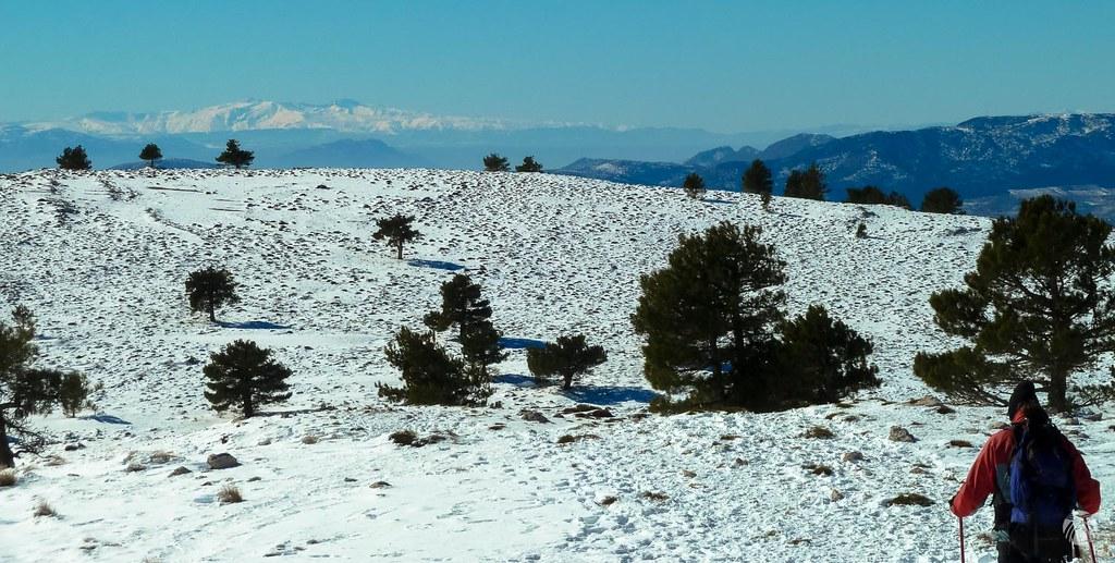 Generosas vistas hacia el sur donde destaca Sierra Nevada