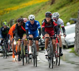 Gilbert Leads on Klausenpass