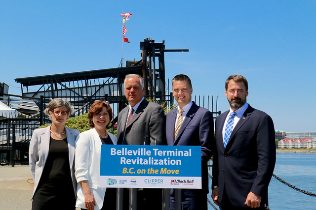 BC ensuring long-term ferry service through Belleville Terminal
