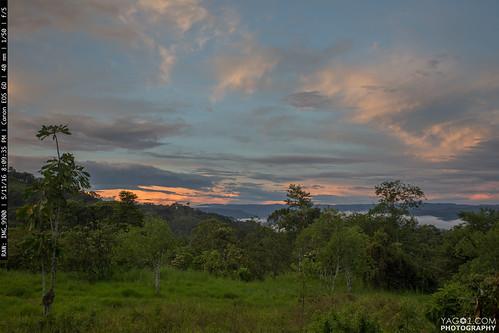 southamerica landscape ecuador twilight elpangui