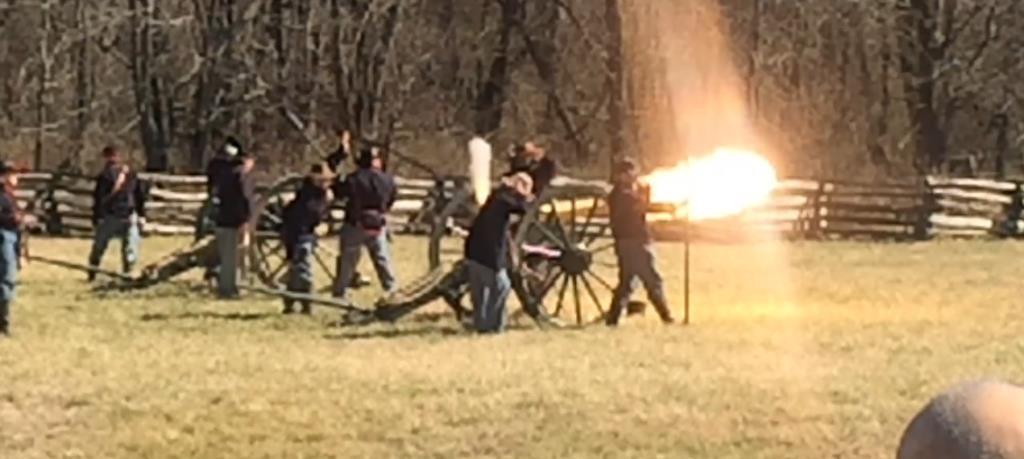 Pea Ridge Foundation » Cannon Fire Demonstration