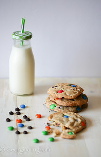 M&M Cookies   by CulinaryTravels