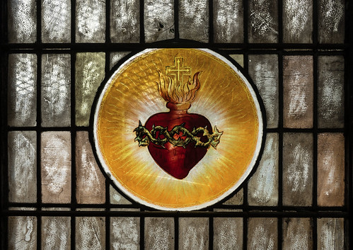 Sacred Heart. Stained glass. | by Element1983