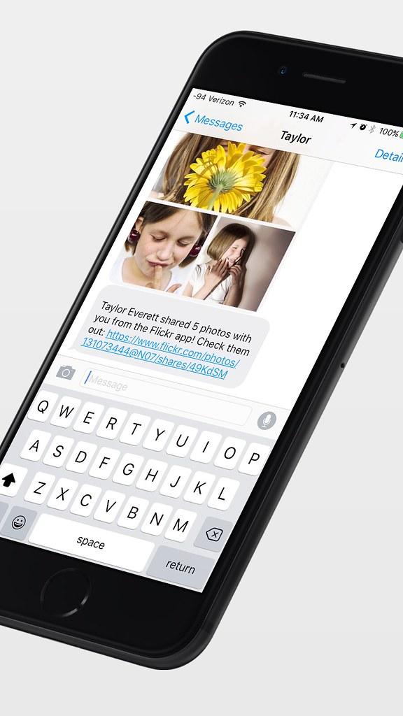 Flickr iOS 9 universal links