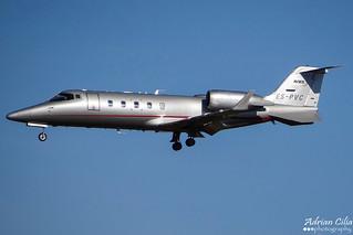Avies --- Bombardier Learjet 60 --- ES-PVC