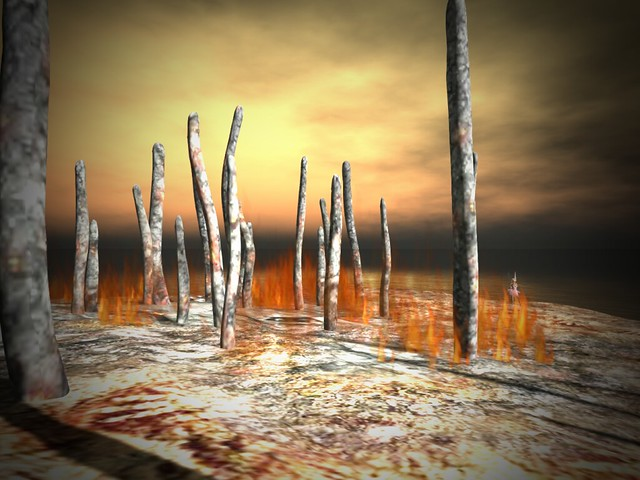Burning By Cica Ghost - It takes Humanity To Burn the Place Down
