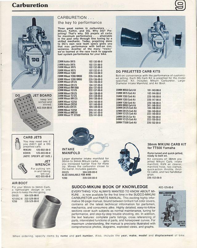 DG Performance Catalog 1977 | Tony Blazier | Flickr