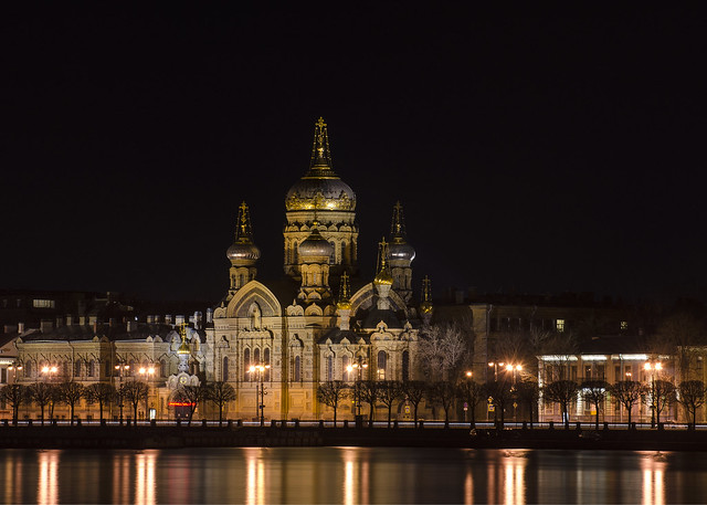 Saint-Petersburg. Church of the Assumption of the Holy Mother of God