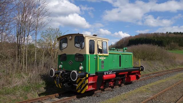 Brohltalbahn Germany 2016 - Orenstein & Koppel diesel engine