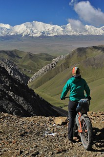 Pik Lenin from the Jiptik Pass | by Pikes On Bikes