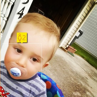 Pretty close for an algorithm, only 11 months and change before he's 2! | by imbigwill