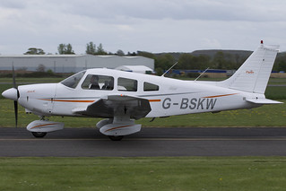 04/05/15 - Piper PA-28-181 (Cherokee Archer II) - G-BSKW
