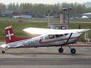G-SAUO Cessna Skywagon 185