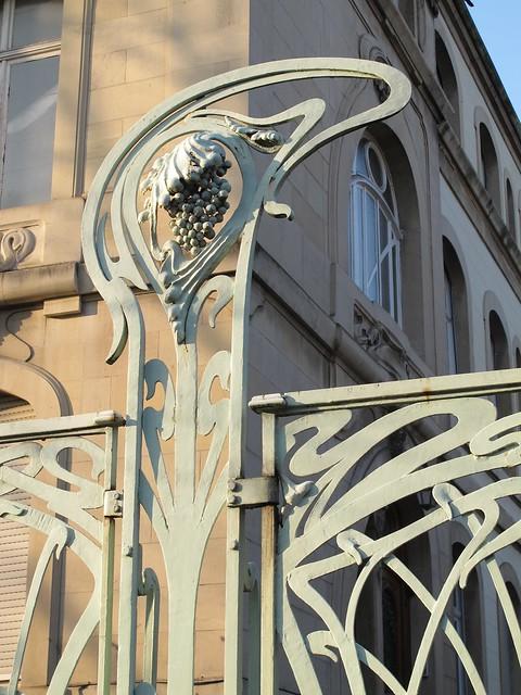 Maison aux raisins (1904) - 7 rue Bartholdi, Colmar (68)