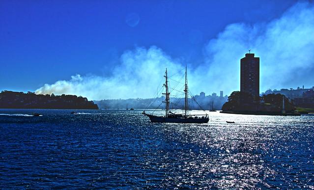Harbour Bushfire