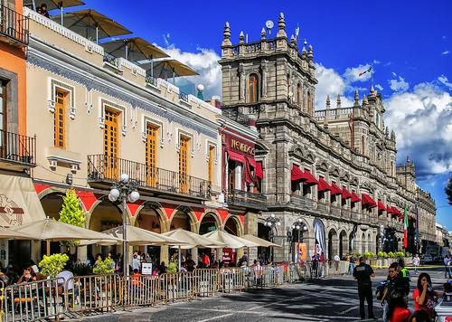 Puebla, centro histórico.