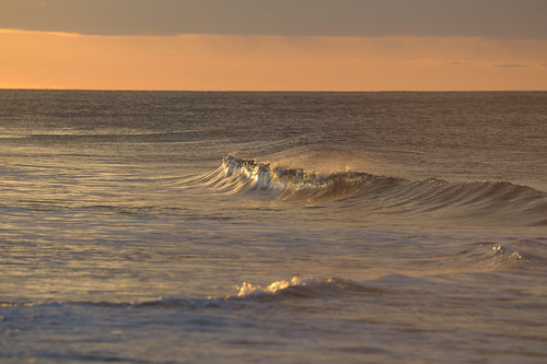 ocean sea sunlight water sunrise nikon glow wave sunlit 70300mm easthampton d700