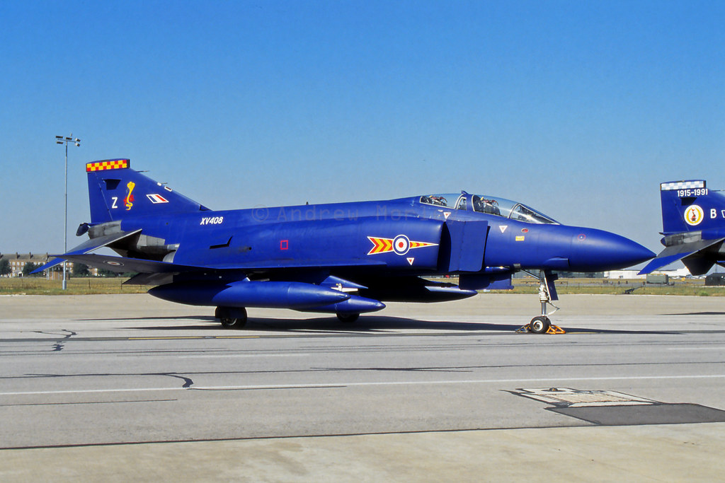 RAF Phantom FGR.2 at Brize Norton.