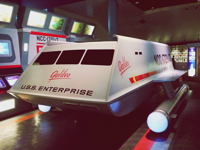 Shuttlecraft Galileo @ Space Center Houston