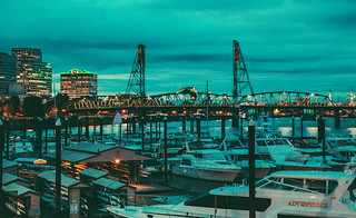 Portland Riverfront - Portland, Oregon | by Tony Webster