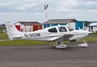 G-GCDB Cirrus SR22