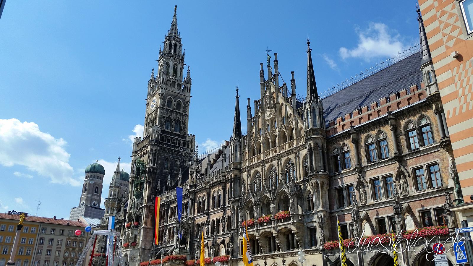 München Rathaus & Marienplatz