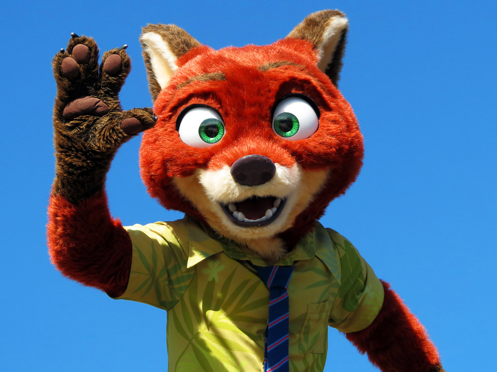 Nick Wilde Move It Shake It Dance And Play It Street Pa