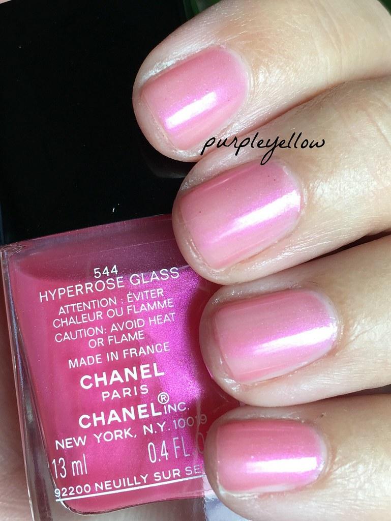 Chanel Hyperrose Glass | purple yellow | Flickr