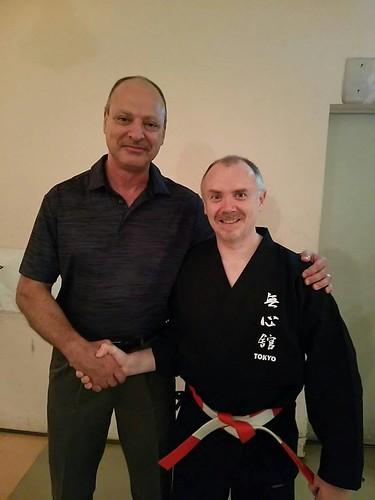 Celebrating My Friend Joe Swift Sensei's 15th Dojo Anniversary   by Mark Tankosich