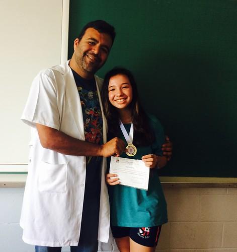 Premiação Olimpíada de Matemática - Fund. II (out/16)