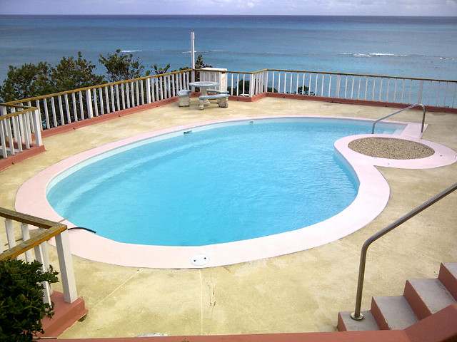 Final Swimming Pool Repair - Bermuda