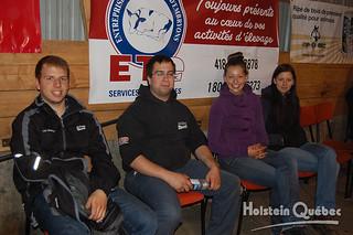 22 mai 2015 - Quelques bénévoles : Jean-Sébastien Bédard, Keaven Payeur, Patricia et Anne-Marie Auger