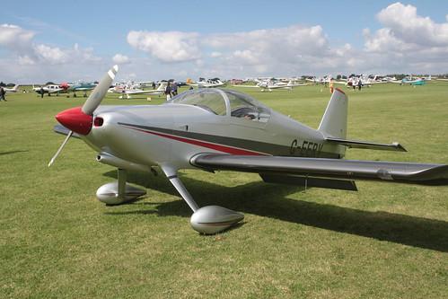 G-EERV Vans RV-6 [PFA 181A-13381] Sywell