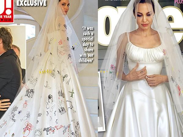 Angelina Jolie Wedding Gown Via Gown Ideas Blog Ift Tt 1jf Flickr