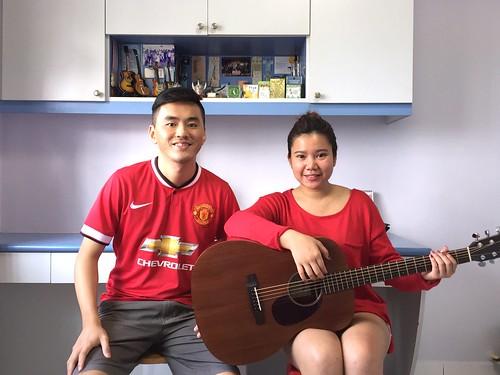 Guitar lessons Singapore Tiffany