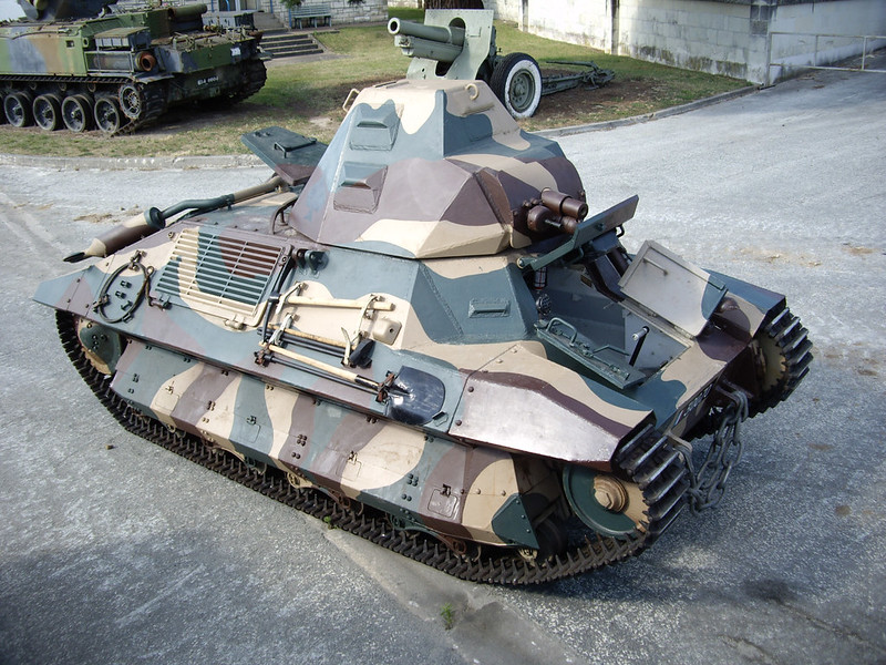 FCM 36 a light infantry tank t