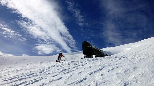 patagonia nieve viento jetstream nubes villarrica esquí esquídetravesía