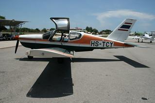 SOCATA TB-20 Trinidad HS-TCY-4 Hua Hin 02May12 (Frank Vorwerk)