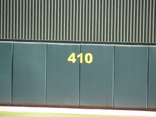 Dead Center at Hohokam Stadium -- Mesa, AZ, March 13, 2016