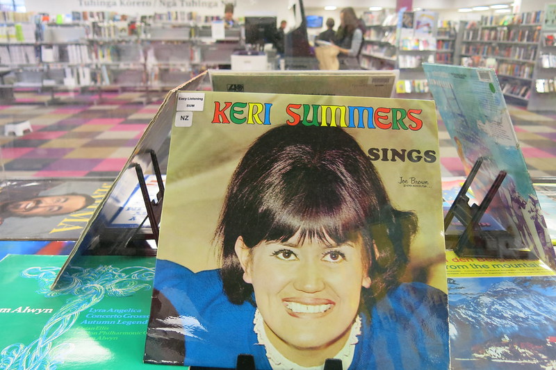 Vinyl display - LPs