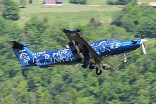 Pilatus PC-12, HB-FWA, Demonstrator
