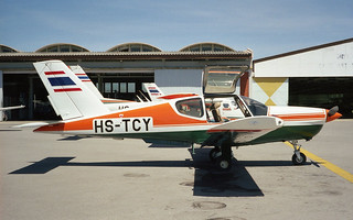 SOCATA TB-20 Trinidad HS-TCY-01 Hua Hin Aug98