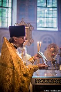 Литургия в Софийском соборе 95
