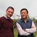 Kevin et son vieil ami JP Gurung