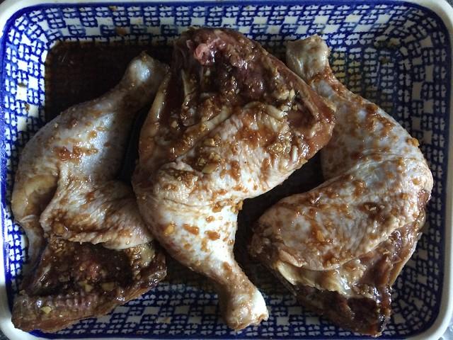 Korean Style Sticky Honey Soy Chicken