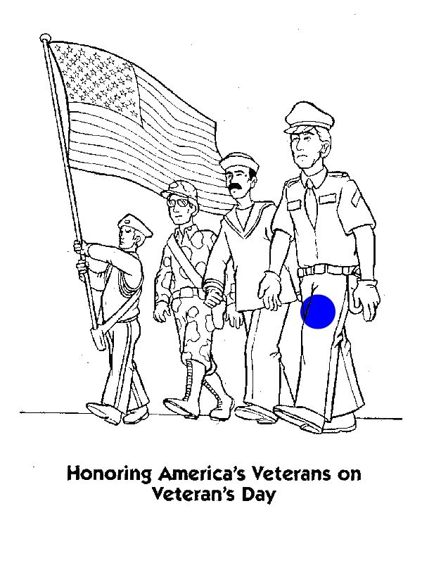Veterans Day Coloring Sheets Via Free Coloring Pages Ift.t… Flickr